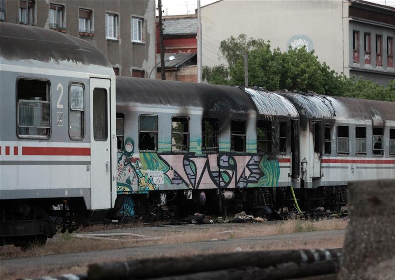 Kod Glavnoga Kolodvora U Zagrebu Zapalila Se Dva Vagona